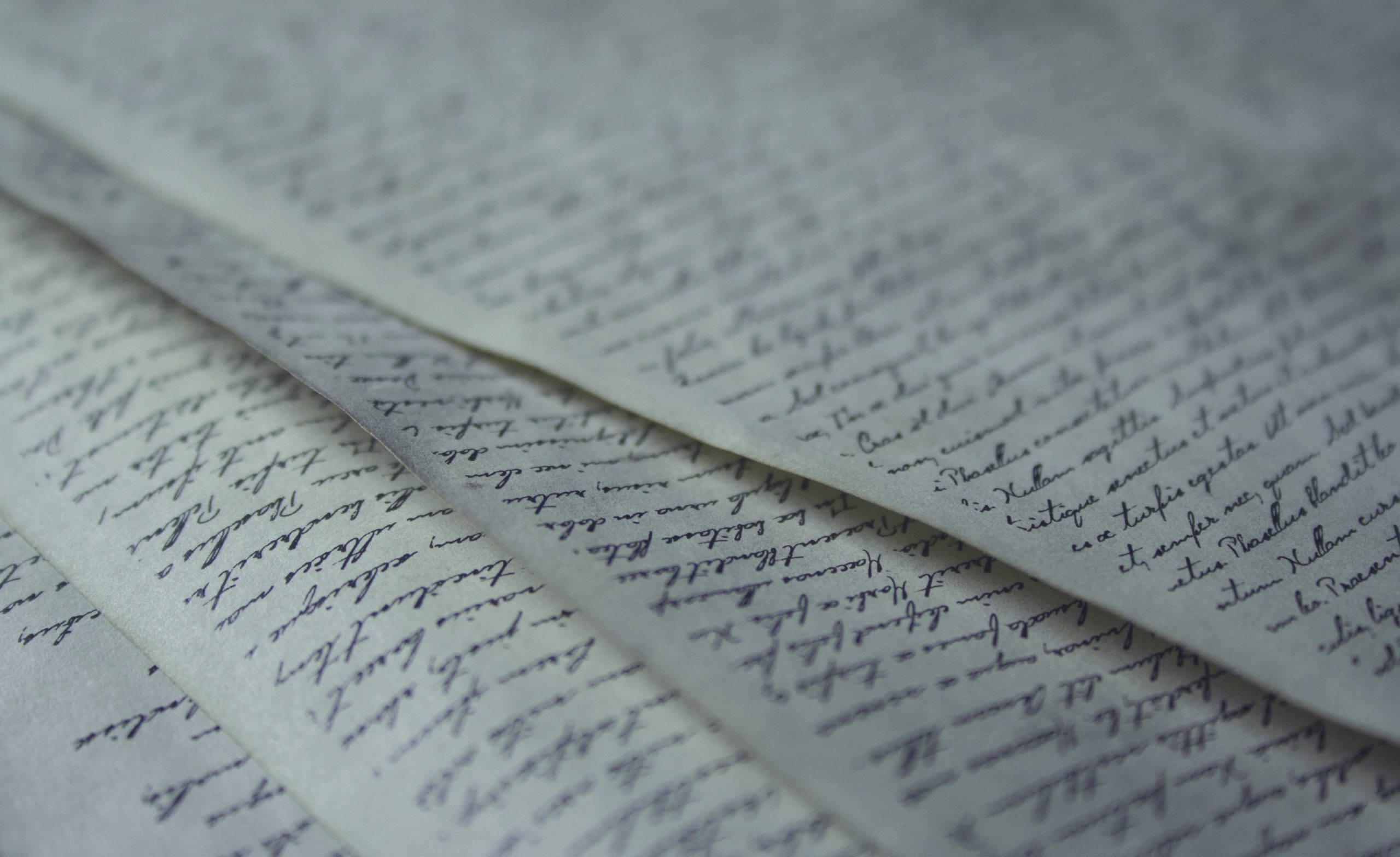 Document batch with handwriting